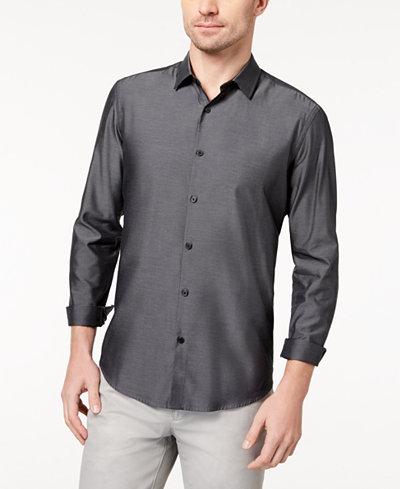Alfani Men's Vernon Two-Tone Shirt, Created for Macy's