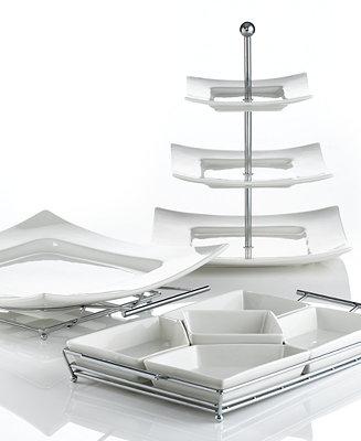 Godinger Serveware Piazza Collection Serveware Dining