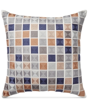 Hotel Collection Patchwork 20 Square Cotton Decorative Pillow Created for Macys Bedding