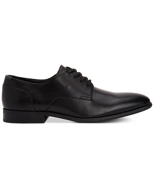 Calvin Klein Mens Lucca Leather Dress Shoes All Mens Shoes Men