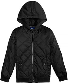 Univibe Quilted Bomber Jacket, Big Boys