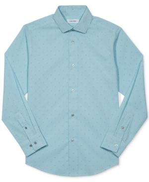 Calvin Klein Dobby Shirt Big Boys (820)
