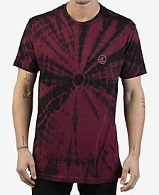 Neff Men's Smiley Tie-Dyed Logo T-Shirt