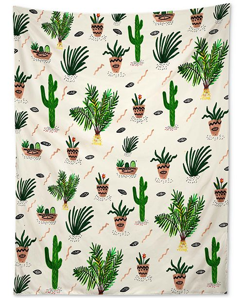 Deny Designs Kris Tate Plants Are My Friends Tapestry