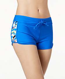 GO by Gossip Crossed Signals Swim Shorts