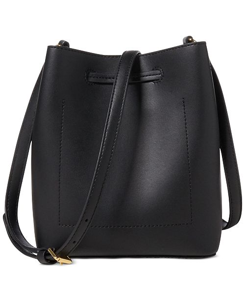 af991c962732 ... Lauren Ralph Lauren Dryden Debby II Mini Leather Drawstring Bag ...