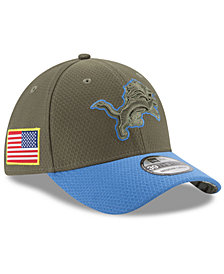 New Era Detroit Lions Salute To Service 39THIRTY Cap