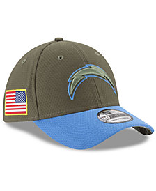New Era Los Angeles Chargers Salute To Service 39THIRTY Cap