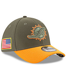 New Era Miami Dolphins Salute To Service 39THIRTY Cap