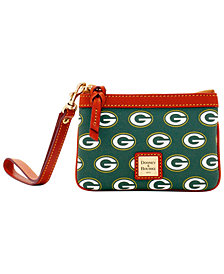 Dooney & Bourke Green Bay Packers Exclusive Wristlet