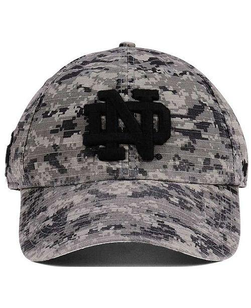 new style a17bc 0f0d8 ...  47 Brand Notre Dame Fighting Irish Operation Hat Trick Camo Nilan Cap     ...