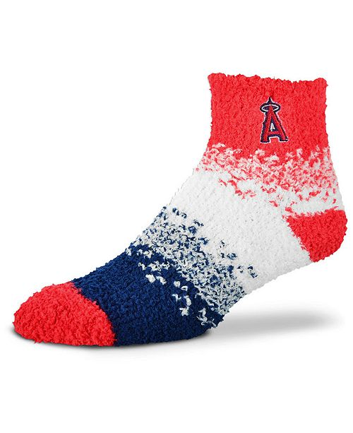 For Bare Feet Los Angeles Angels Marquee Sleep Soft Socks