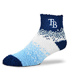 For Bare Feet Tampa Bay Rays Marquee Sleep Soft Socks