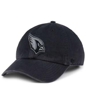 '47 Brand Arizona Cardinals Dark Charcoal Clean Up Cap Men Activewear - Sports Fan Shop By Lids