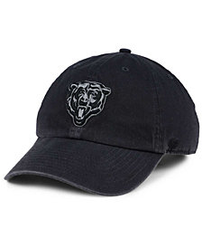 '47 Brand Chicago Bears Dark Charcoal CLEAN UP Cap