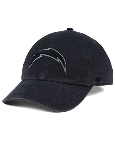 '47 Brand Los Angeles Chargers Dark Charcoal CLEAN UP Cap