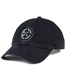 '47 Brand Pittsburgh Steelers Dark Charcoal CLEAN UP Cap