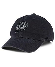 '47 Brand Washington Redskins Dark Charcoal CLEAN UP Cap