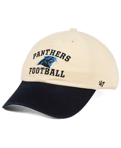 '47 Brand Carolina Panthers Steady Two-Tone CLEAN UP Cap