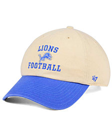 '47 Brand Detroit Lions Steady Two-Tone CLEAN UP Cap