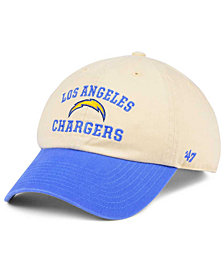'47 Brand Los Angeles Chargers Steady Two-Tone CLEAN UP Cap