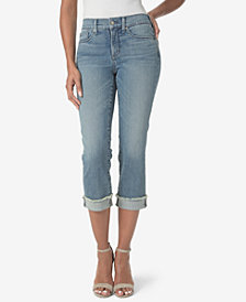 NYDJ Marilyn Tummy-Control Crop Jean with Cuff