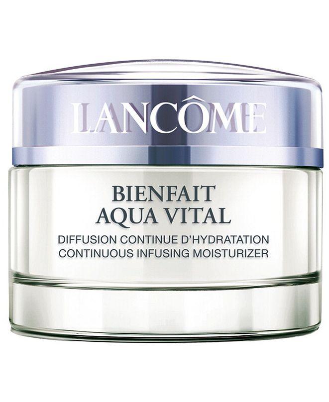 Lancome Bienfait Aqua Vital Moisturizer Crème, 1.7 oz