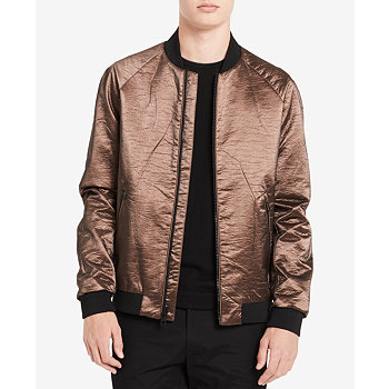 Calvin Klein Men's Copper Bomber Jacket