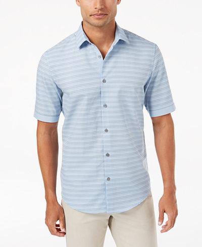 Alfani Men's Attica Striped Shirt, Created for Macy's