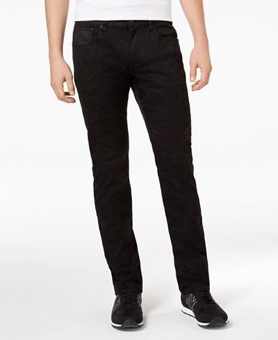 Armani Exchange Men's Slim-Straight Fit Tonal Camo Pants