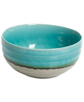 Elite Reactive Glaze Jade Small Serving Bowl, Created for Macy's