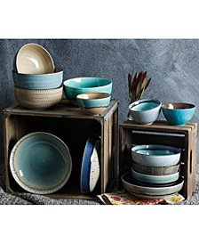 Gibson Reactive Glaze Bowl Collection, Created for Macy's