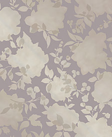 Tempaper Silhouette Self-Adhesive Wallpaper