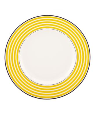 Dinnerware, Sea Cliffs Stripe Accent Plate