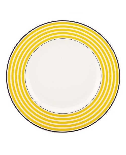 kate spade new york  Dinnerware, Sea Cliffs Stripe Accent Plate