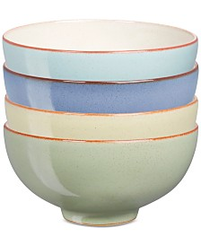 Denby Heritage Collection 4-Pc. Assorted Rice Bowl Set