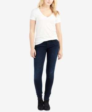 Stella Skinny Jeans In Mystic Blues in Egjm Mysti