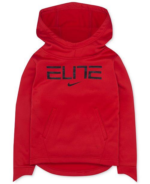 Nike Elite Graphic-Print Therma Hoodie ed8aa83ced3d