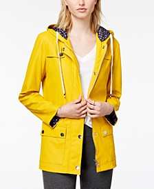 Hooded Raincoat, Created for Macy's