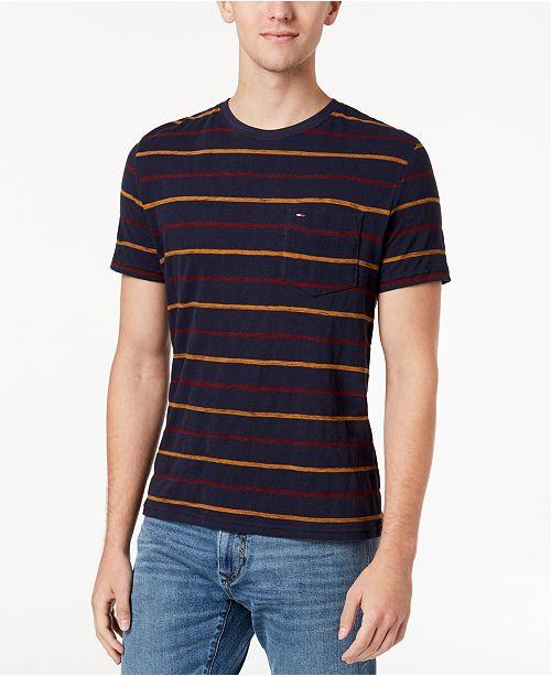ee12dc8a2f Tommy Hilfiger Men's Stripe T-Shirt & Reviews - T-Shirts - Men - Macy's