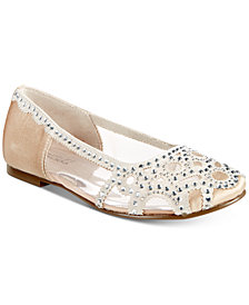 Badgley Mischka Gigi Gems Flats, Little Girls & Big Girls