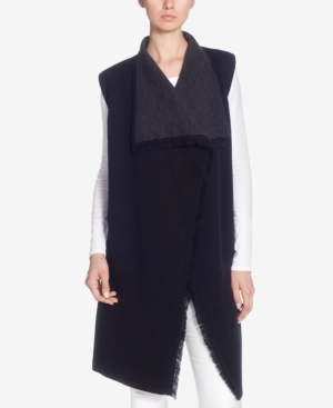 Catherine Malandrino CATHERINE CATHERINE MALANDRINO LETTY OPEN-FRONT SWEATER VEST