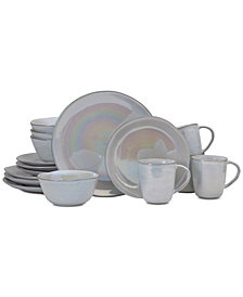 Mikasa Coronado Pearl 16-Piece Dinnerware Set, Service for 4