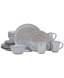 Mikasa Coronado Pearl 16-Piece Dinnerware Set, Service for 4
