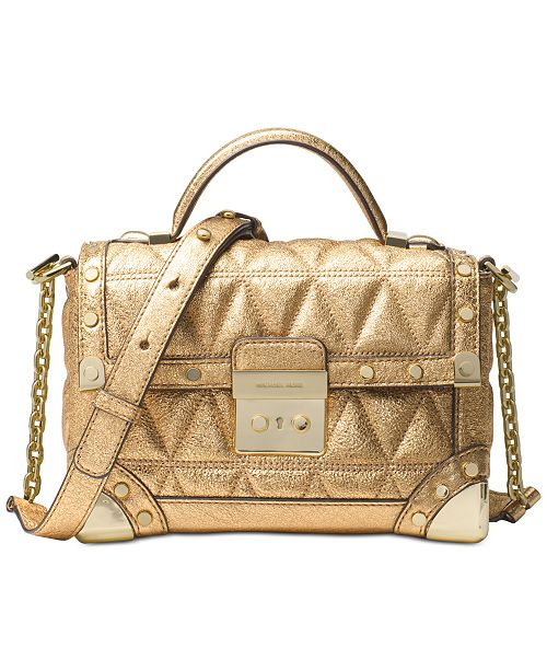 5e365977f966 Michael Kors Cori Small Trunk Bag   Reviews - Handbags ...