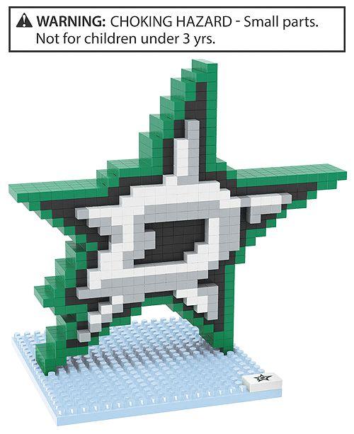 Forever Collectibles Dallas Stars BRXLZ 3D Logo Puzzle