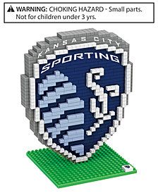 Forever Collectibles Sporting Kansas City BRXLZ 3D Logo Puzzle