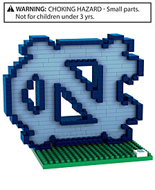 Forever Collectibles North Carolina Tar Heels BRXLZ 3D Logo Puzzle