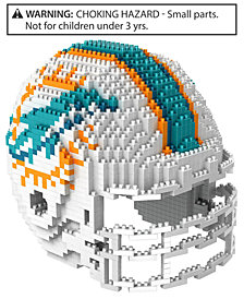Forever Collectibles Miami Dolphins BRXLZ 3D Helmet Puzzle