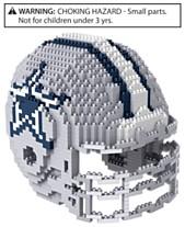 Forever Collectibles Dallas Cowboys BRXLZ 3D Helmet Puzzle 3d140675d
